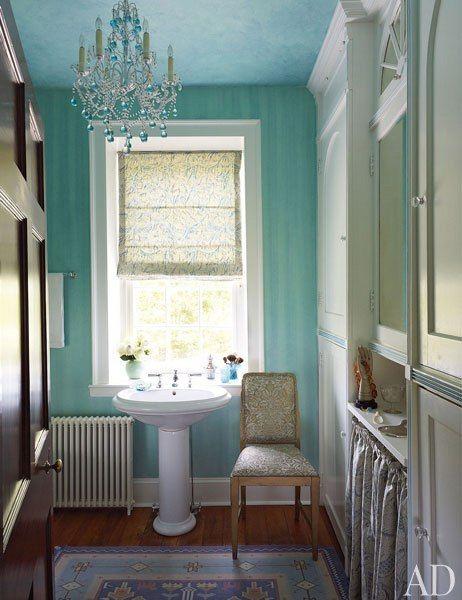 【浴室】法式古董吊燈