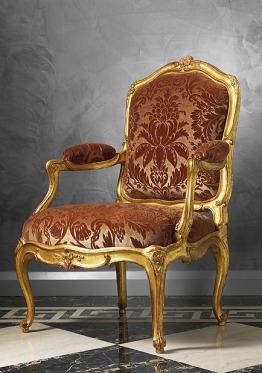 路易十五扶手椅(fauteuil)