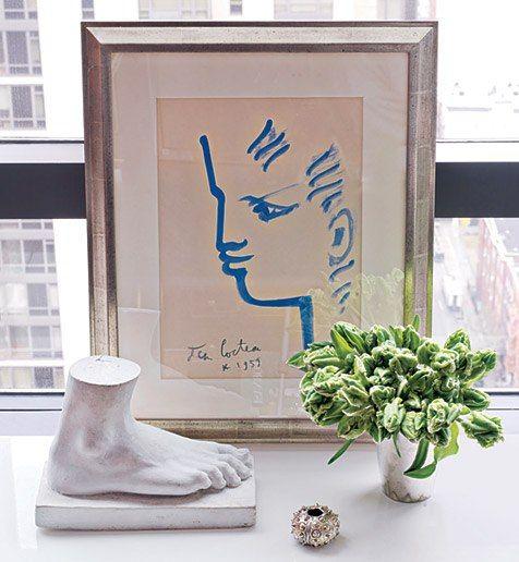 Jean Cocteau水彩畫