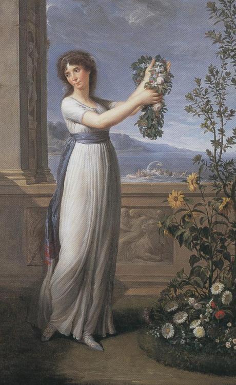 喬瑟芬和花