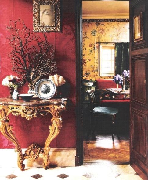 米蘭設計師在巴黎左岸懷舊公寓