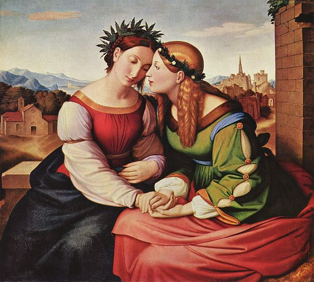 Friedrich_Overbeck Italia and Germania