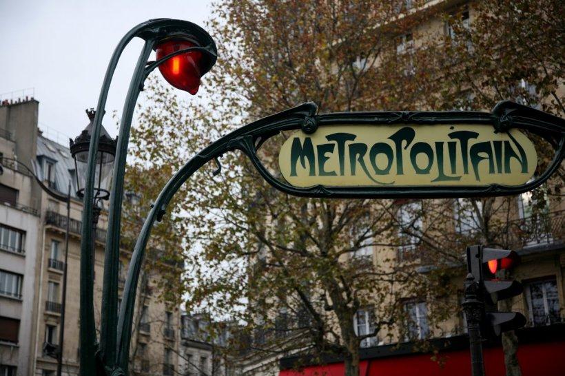 巴黎地鐵站入口(圖片出處)