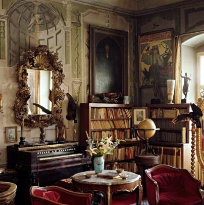 慕夏在布拉格的書房 一