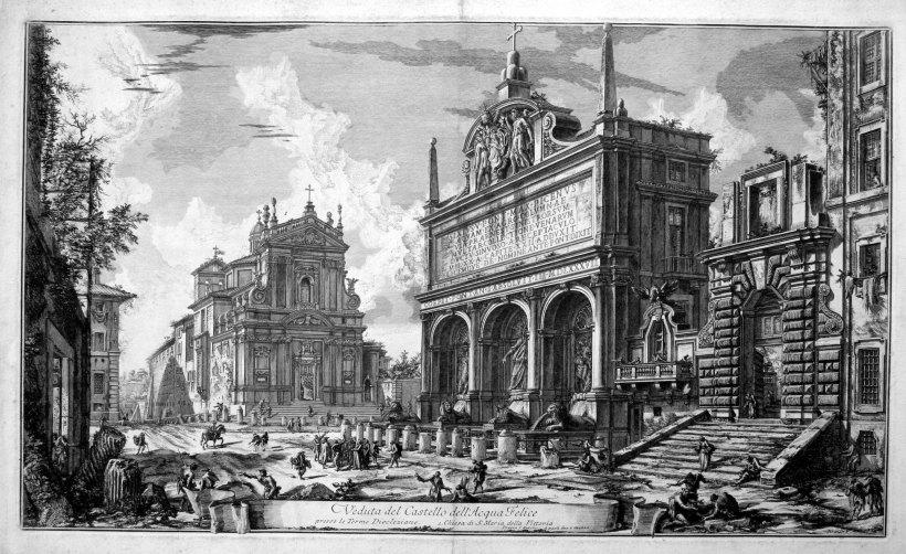 菲利斯噴泉(Fontana dell'Acqua Felice),又名摩西噴泉(Fountain of Moses),為羅馬知名噴泉之一,為羅馬的老菲利斯水道(Acqua Felice)的終點。
