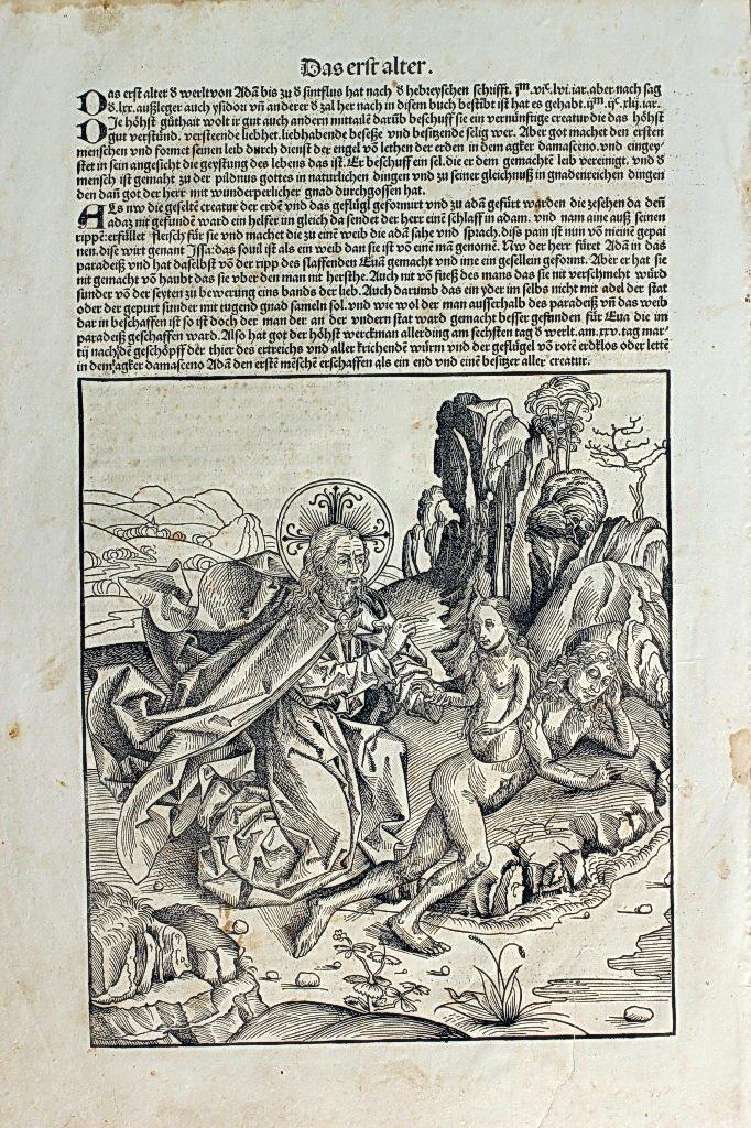《年鑑》中的聖經故事:夏娃的誕生