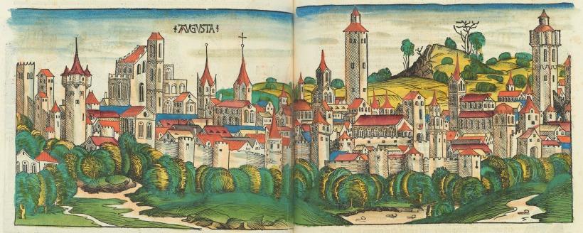 《年鑑》中的奧古斯堡