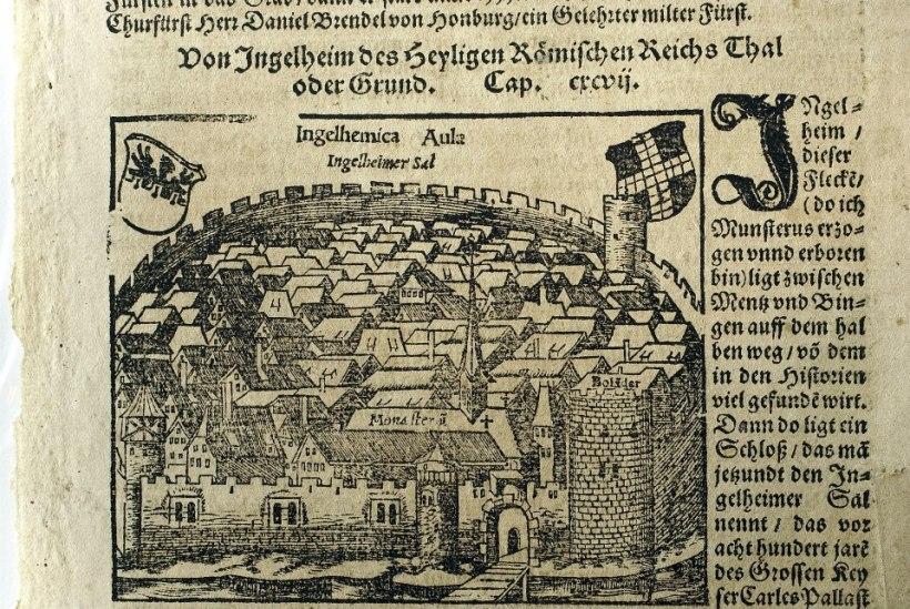德文版茵格海姆(Ingelheim)插圖。