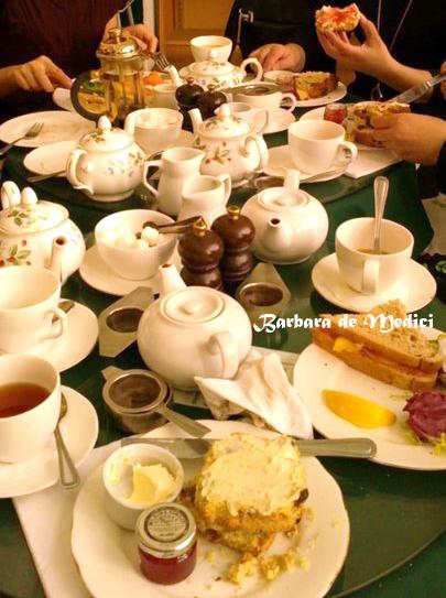 英國伯明罕的下午茶時光