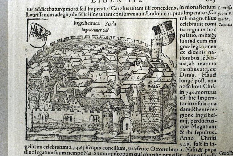拉丁文版茵格海姆(Ingelheim)插圖。