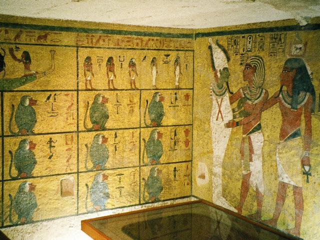 圖坦卡蒙法老陵墓