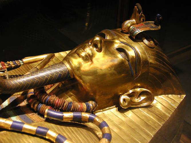 圖坦卡蒙法老金面具