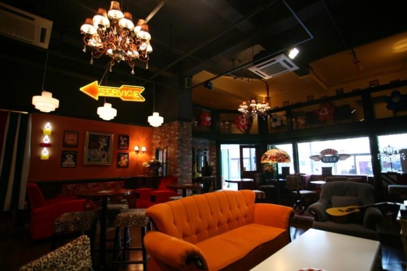 杭州的老友記咖啡館