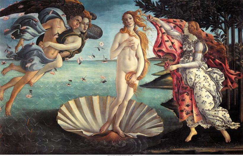 波提切利的《維納斯的誕生》