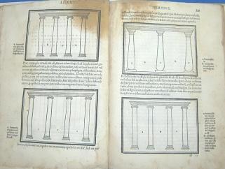 1511年《建築十書》第一次插圖版之插圖。