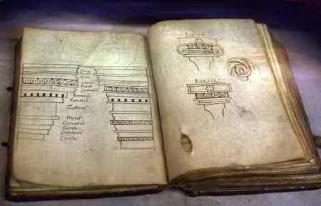 《建築十書》中古手稿(750-987)。
