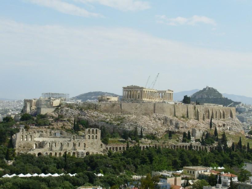 雅典衛城。