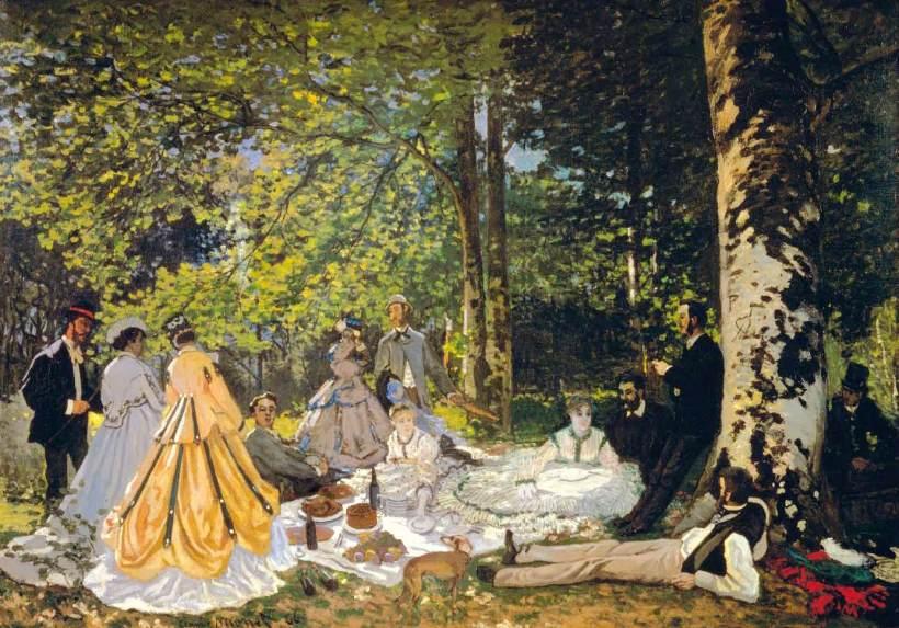 Claude-Monet-The-Picnic