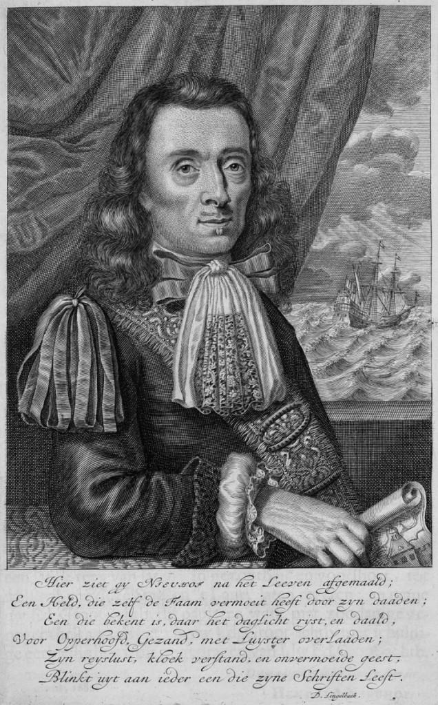 約翰‧尼霍夫(Johan Nieuhoff)肖像