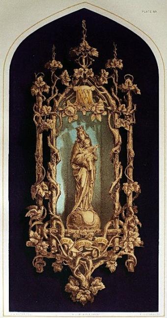 內頁6. a niche 法國木雕壁飾。