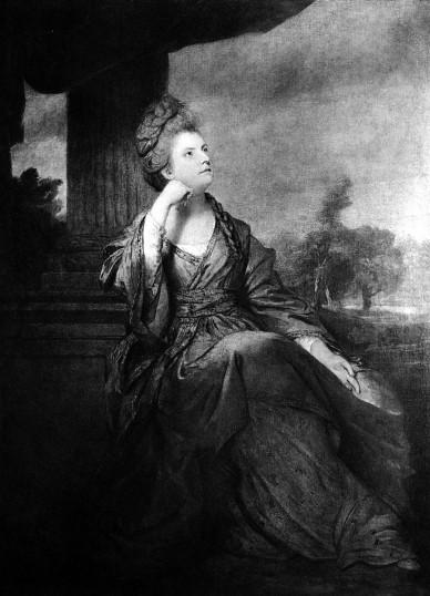雷諾斯(Sir Joshua Reynolds, 1723 – 1792),女公爵肖像。