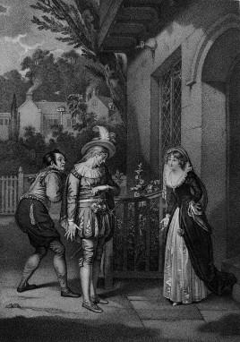 《溫莎的風流婦人》(Merry Wives of Windsor),第一幕,第一場。