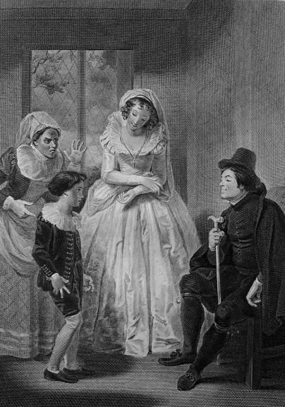 《溫莎的風流婦人》,第四幕,第一場。
