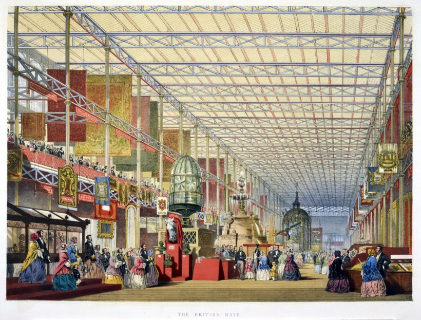 英國展館。