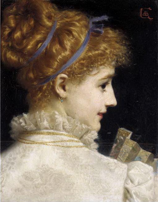 回眸,油彩畫布,1876。