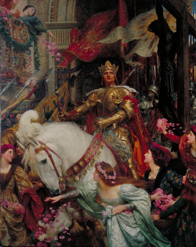兩位君王,油彩畫布,英國泰德美術館(Tate Britain)