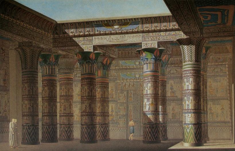 埃及菲萊神廟(Philae temple),位於埃及亞斯文城南尼羅河中的菲萊島上,以石雕及石壁浮雕上的神話故事聞名於世。
