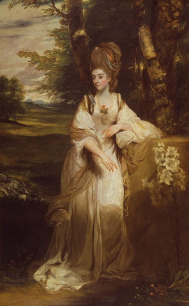 雷諾斯,《本懷德女士肖像》原作。