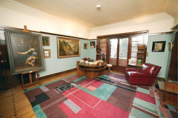 凡‧布倫博物館室內一景