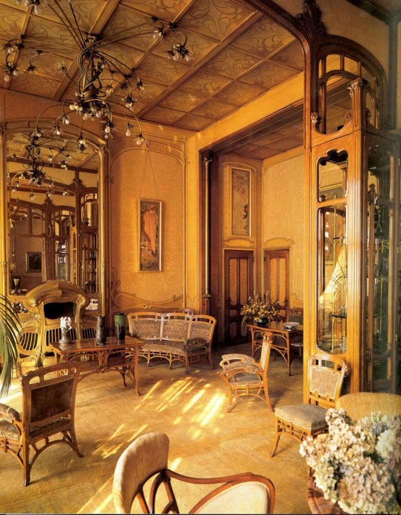 奧塔博物館室內