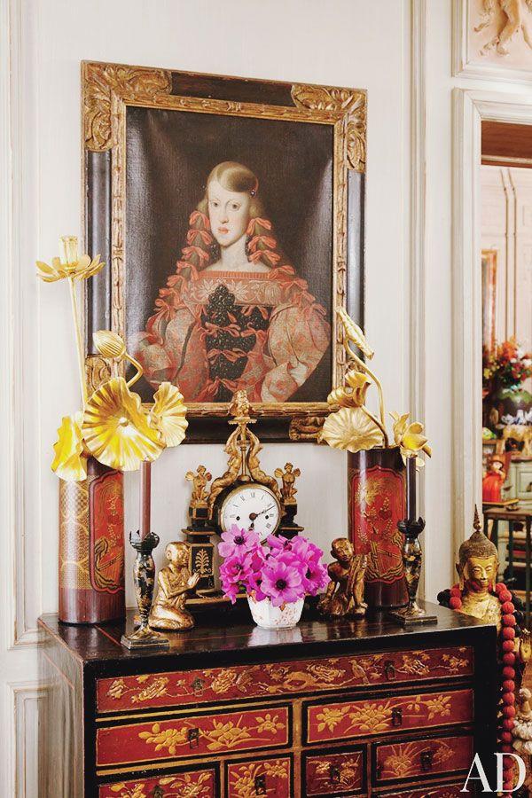艾瑞絲在佛羅倫斯遇見的西班牙大畫家維拉斯奎茲風格的女孩肖像。