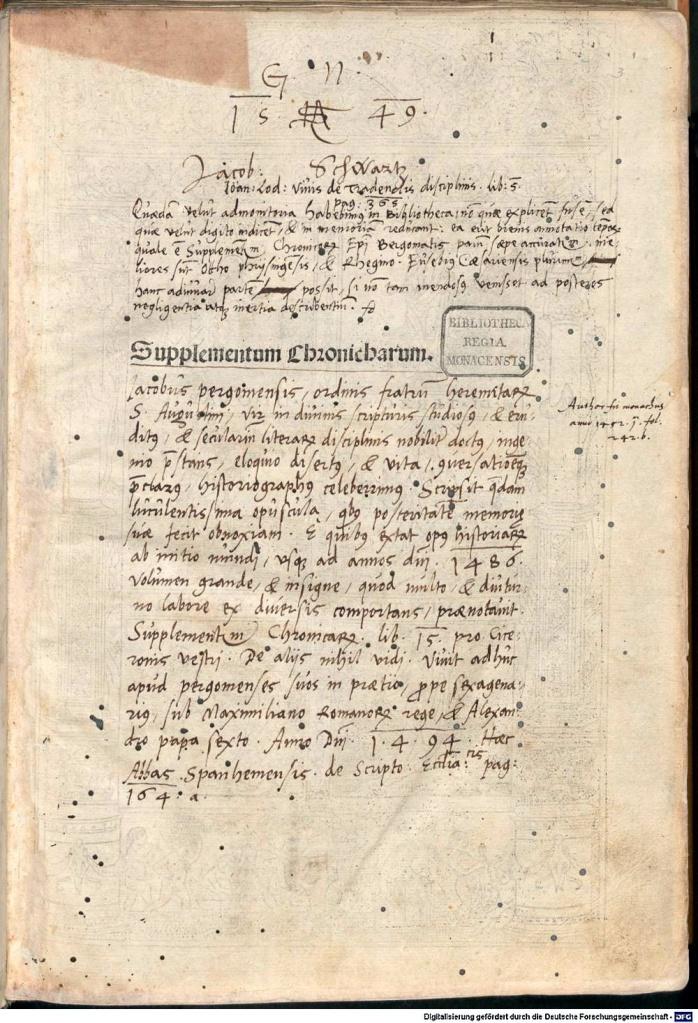 《年鑑補遺》第五版書名頁。