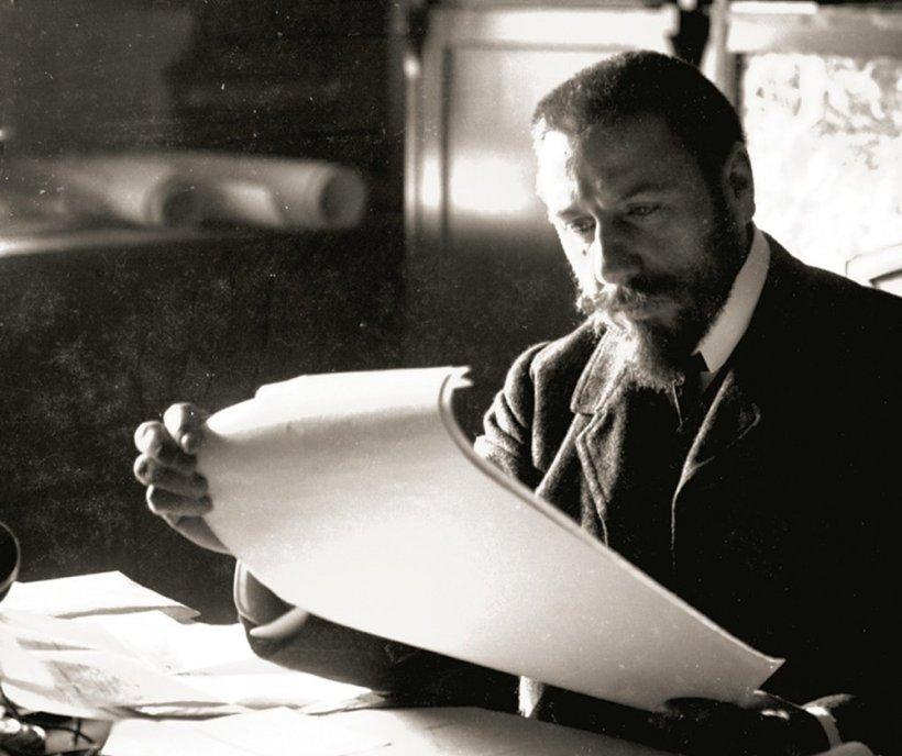 比利時的建築師維克多•奧塔(Victor Horta, 1861-1947)