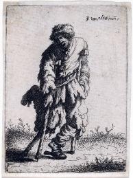 約翰‧凡‧弗利特,乞丐組圖,銅版蝕刻。