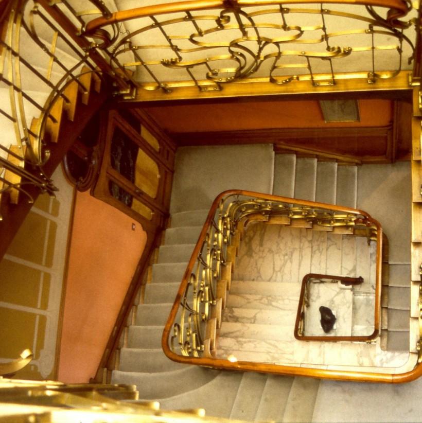 奧塔博物館樓梯間