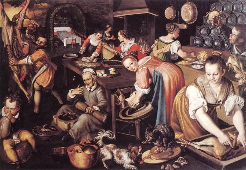 Vincenzo Campi (Italian painter, c 1536 – 1591) Kitchen