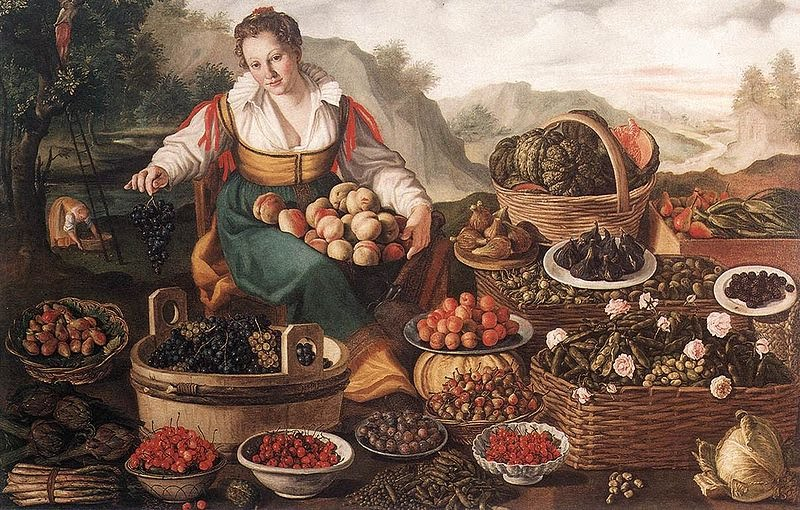 Vincenzo Campi (Italian painter, c 1536 – 1591) The Fruit Seller