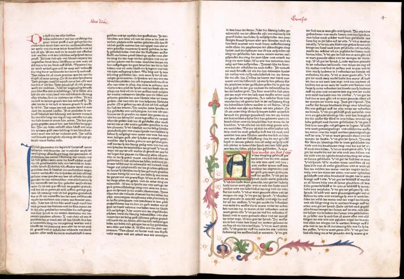 曼特林聖經(Mentelin Bible),1466年。