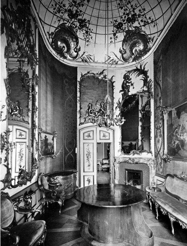 城市宮,私密交心房間,1940前。