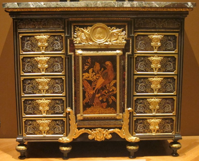 Cabinet,_c._1690,_ebony,_metal_and_tortoise_shell,_André-Charles_Boulle,_Cleveland_Museum_of_Art