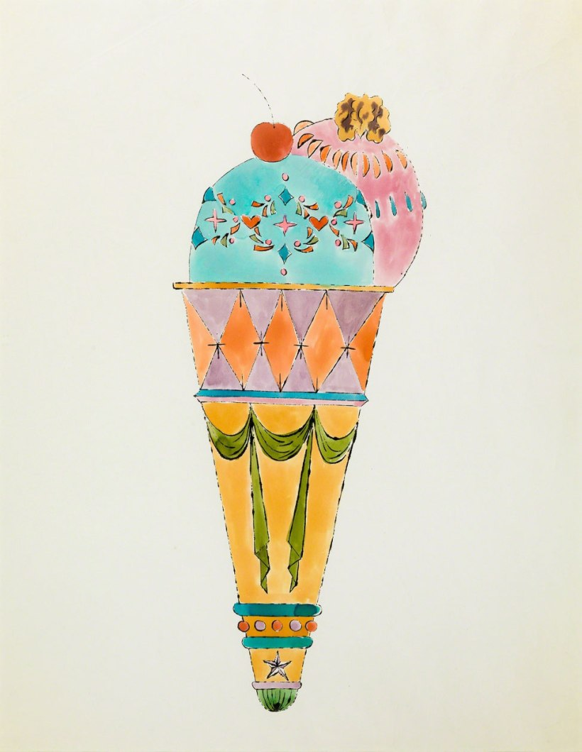 andy-warhol-ice-cream-cone