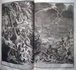 諾亞時代的大洪水。
