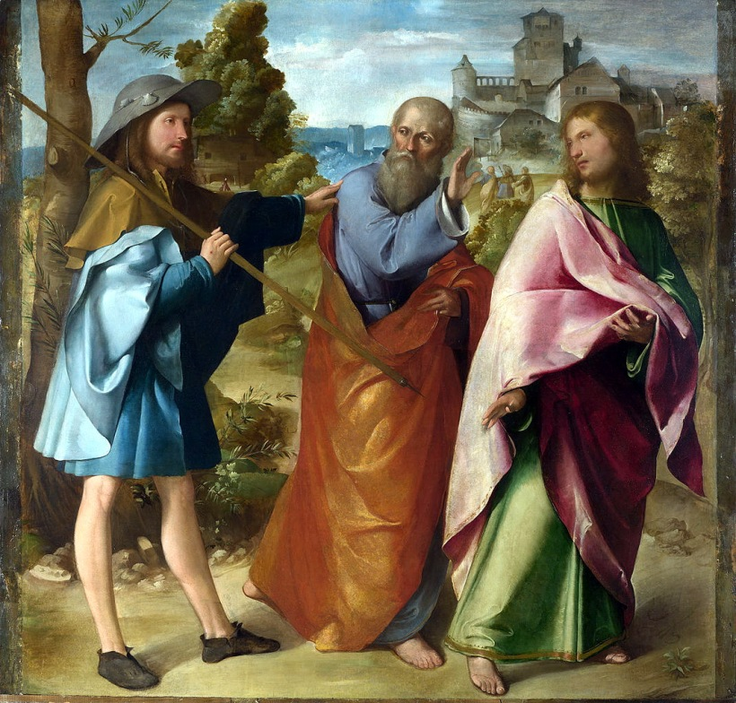 1070px-Altobello_Melone_-_The_Road_to_Emmaus_-_Google_Art_Project