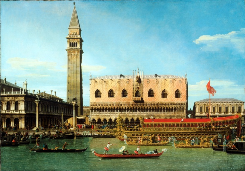 Canaletto_(Giovanni_Antonio_Canal),_Italian_(active_Venice,_Rome,_and_England)_-_The_Bucintoro_at_the_Molo_on_Ascension_Day_-_Google_Art_Project-1