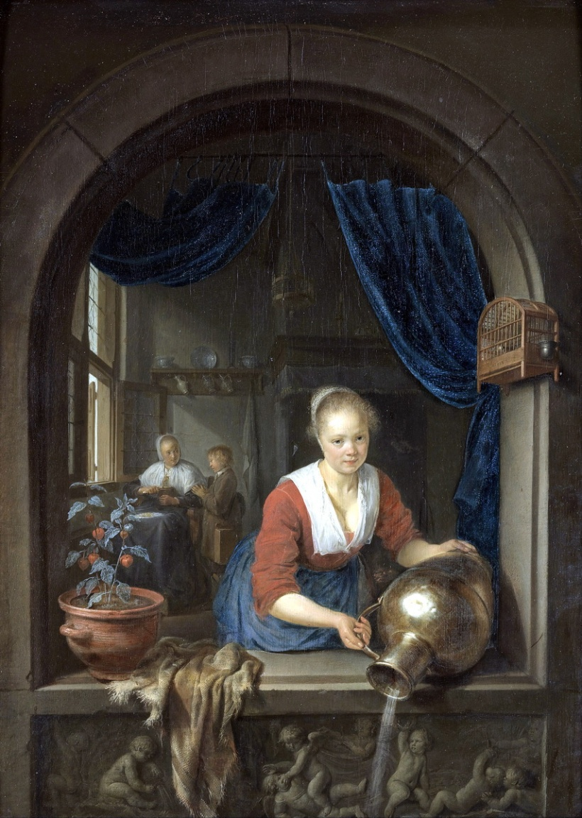 Gerard_Dou_-_Maid_at_the_Window_-_Google_Art_Project-1
