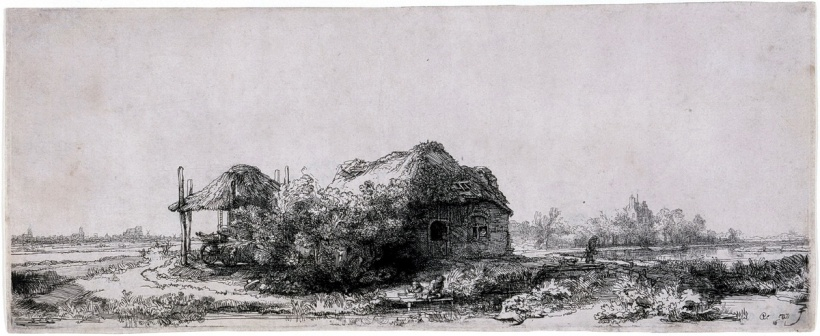 Rembrandt_van_Rijn_-_Landscape_with_a_Cottage_and_Haybarn-1